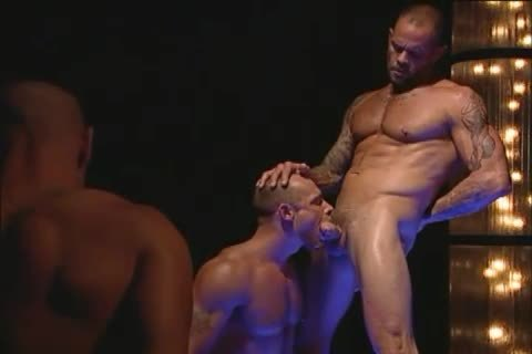 large Muscle Hunks Have fellatio-job-sex stimulation & Rimmjob
