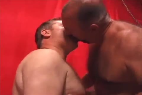 Two palatable Daddies banging
