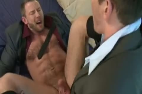 sleazy Tool Gulping And Bottom Riding Businessmen.