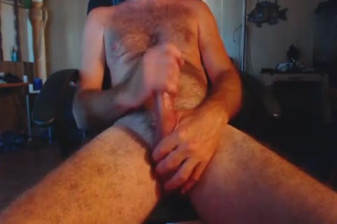 Closeup Redneck knob Stroker.mp4
