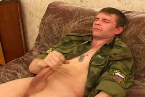 This Military man Feels Very concupiscent!