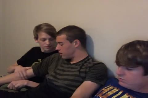 three pretty twinks jack off And engulf Each Other On cam