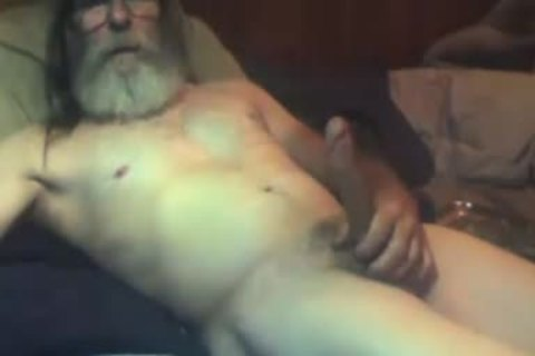 61simon Bearded Daddy Play And cum Compilation