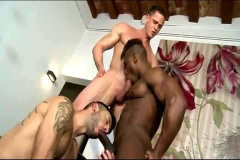 Interracial raw Threeway With DP